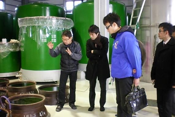 下甑島唯一の焼酎蔵元・吉永酒造さん