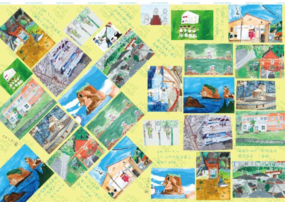 地域の包装紙イメージ2
